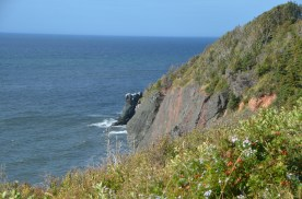 West side cliffs
