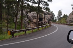 Top of one of these 270 degree turns, after bridge goes straight into the tunnel.