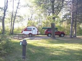 Campground near Mantrap Lake