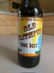 Old Faithful Root Beer.