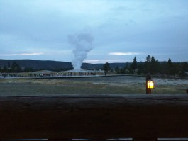 Old Faithful from the Rocking Chair