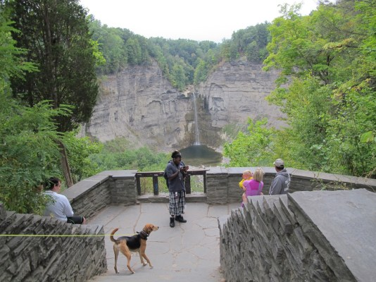 Taughannock falls viewpoint