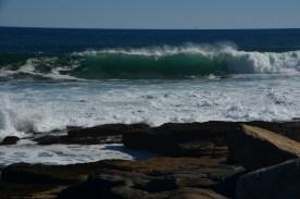 Light through the wave