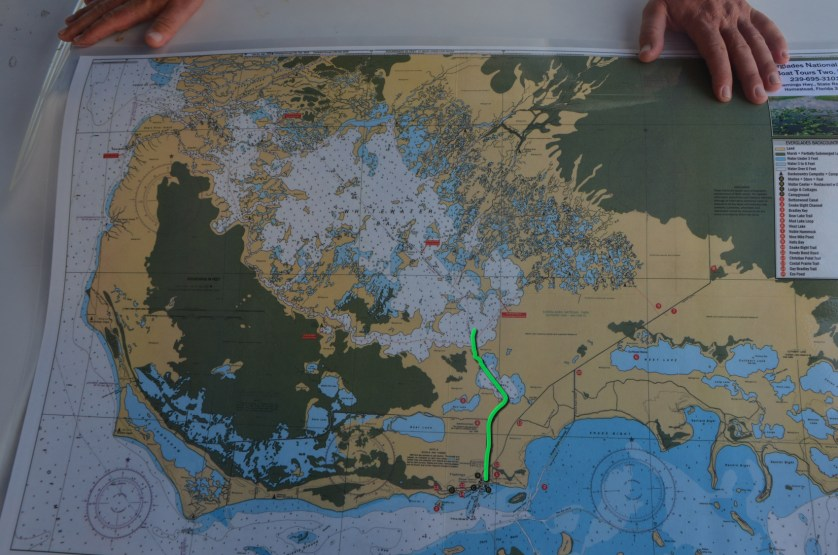 Our backcountry trip was approximately the green line. Just the beginning of a large expanse of wilderness.