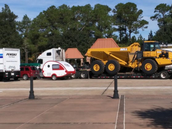 Random photo at a rest area. Trailer included for scale.