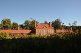 Greenhouse and upper garden
