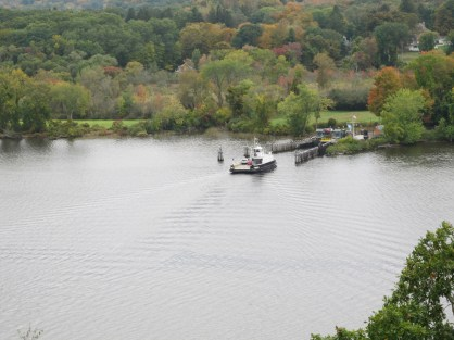 Hadlyme ferry from nearby Gillette Castle