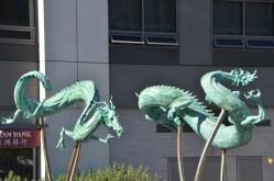 Sculpture near chinatown