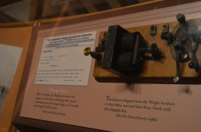 The telegram and the key that sent it.