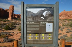 Sign challenges you to let your imagination run wild with the rock formations.