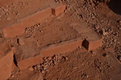 Very nice sandstone steps