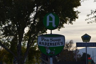 Pea Soup Andersen's Sign