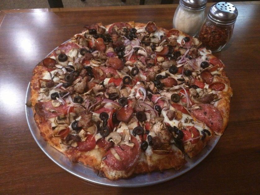 Reward at the end of the day - Mountain Mike's Pizza - Prunedale