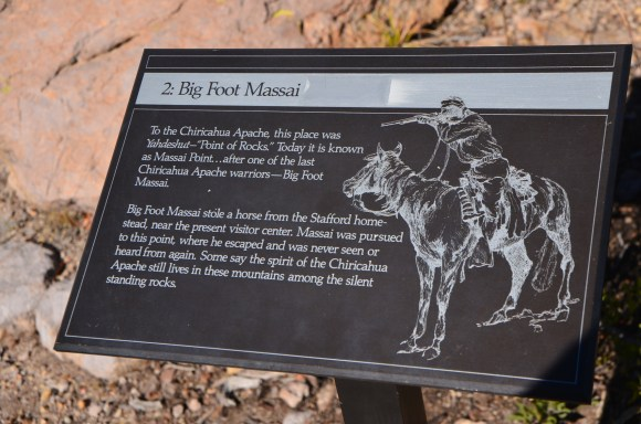 Interpretive signs along the way feed you little bits of history and science.