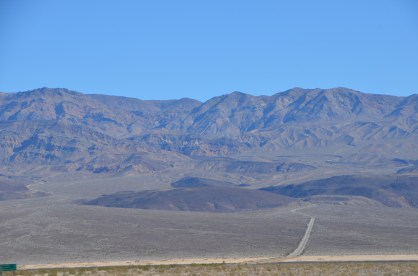 Looking back from Panamint valley Eastward at the mountains we just came over from Death Valley next door.