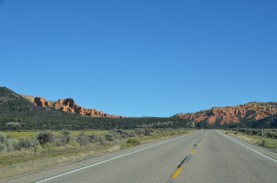 Entering Red Canyon