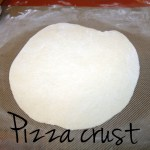 Homemade pizza crust recipe