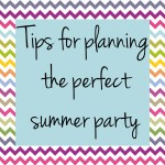 5 Easy ideas for summer parties