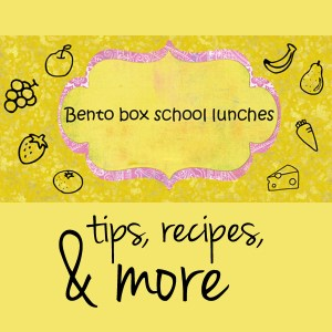 Bento box school lunches: tips, recipes, & more | One Mama's Daily Drama