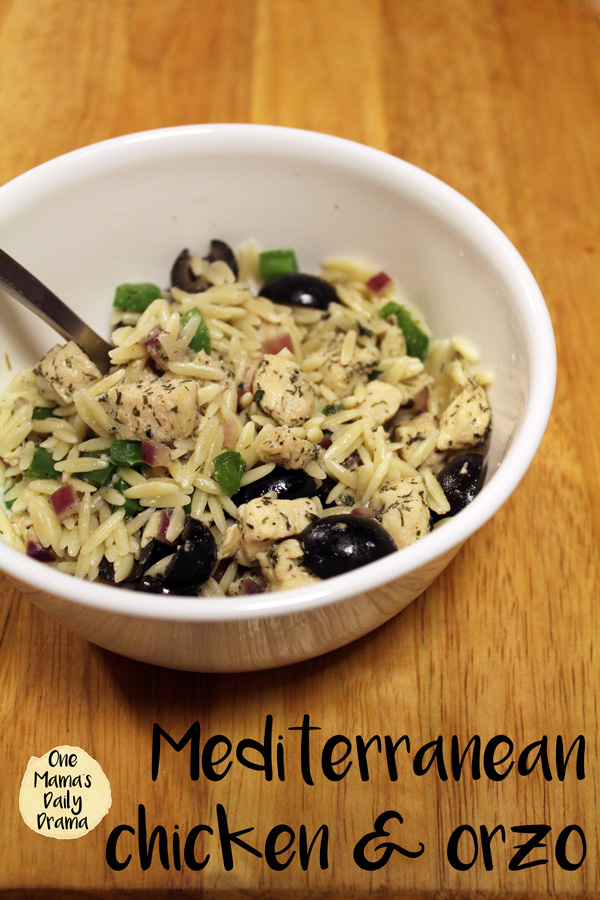Mediterranean chicken and orzo recipe | quick and easy weeknight family meal
