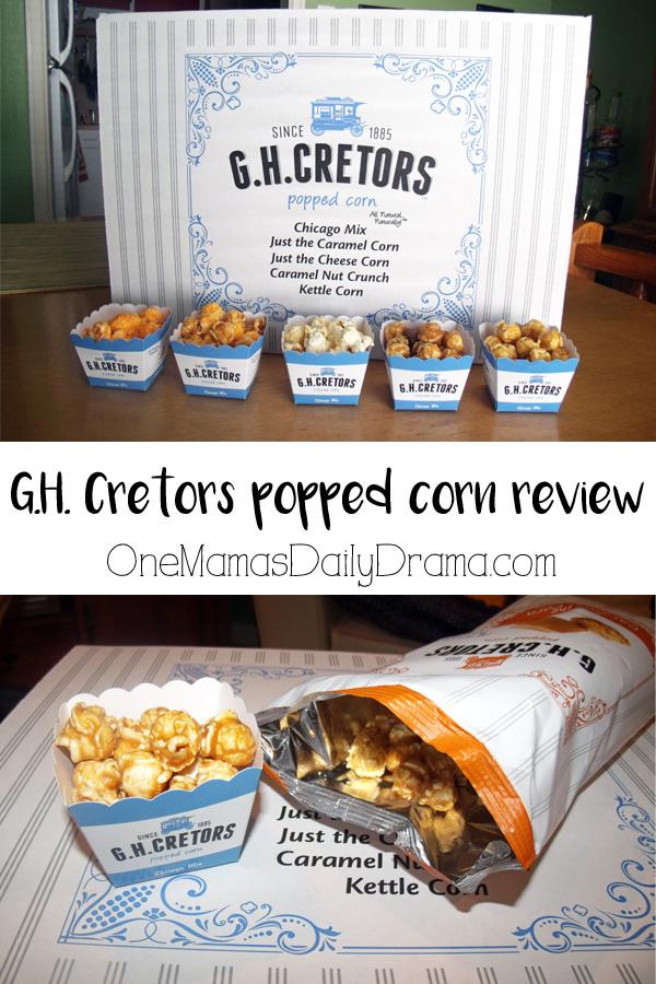GH Cretors popped corn review