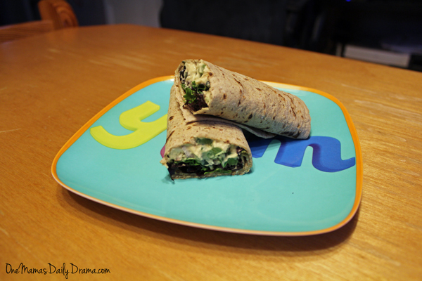 Hummus veggie wraps | from One Mama's Daily Drama