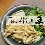 Tuna alfredo recipe