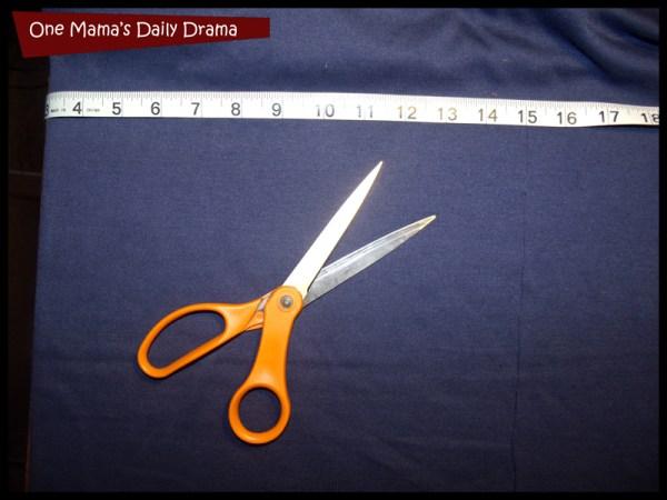 cut out no sew vest rectangle