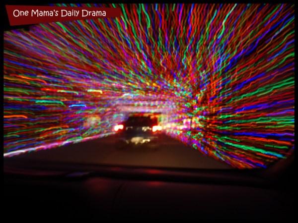 Prairie Lights tunnel