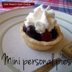 Choose Your Own (Pie) Adventure: mini personal pies | One Mama's Daily Drama