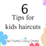 Tips for kids haircuts