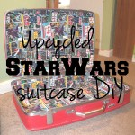 Upcycled Star Wars suitcase DiY