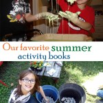 Our favorite summer activity books
