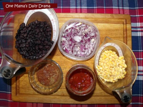 Tex-Mex taco bowls ingredients