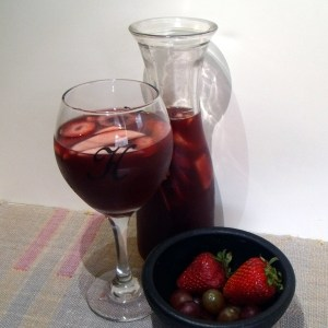 Fruity summer sangria recipe   One Mama's Daily Drama --- This is the perfect summer refresher, made with tons of fruit!