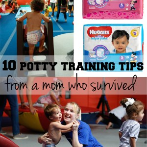 10 potty training tips from a mom who survived | One Mama's Daily Drama --- Practical advice for potty training your toddler.