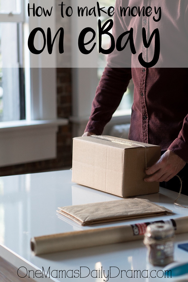 How to make money on eBay   How to make money from home blog series