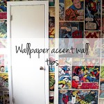 Wallpaper accent wall tips