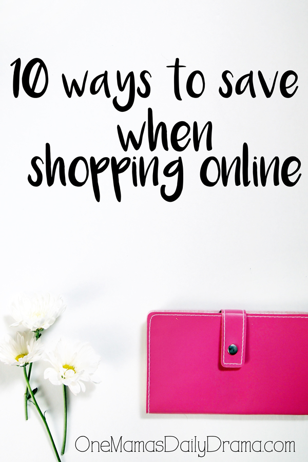 10 ways to save when shopping online