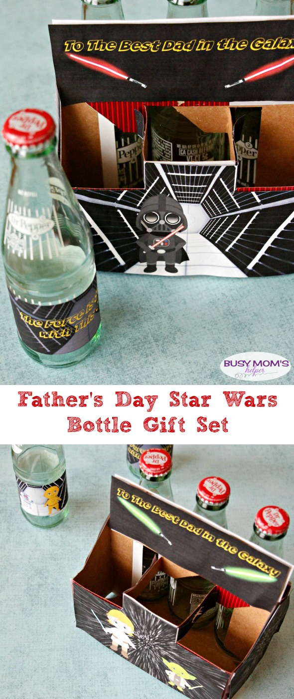 Father's Day Star Wars Bottles | Busy Mom's Helper