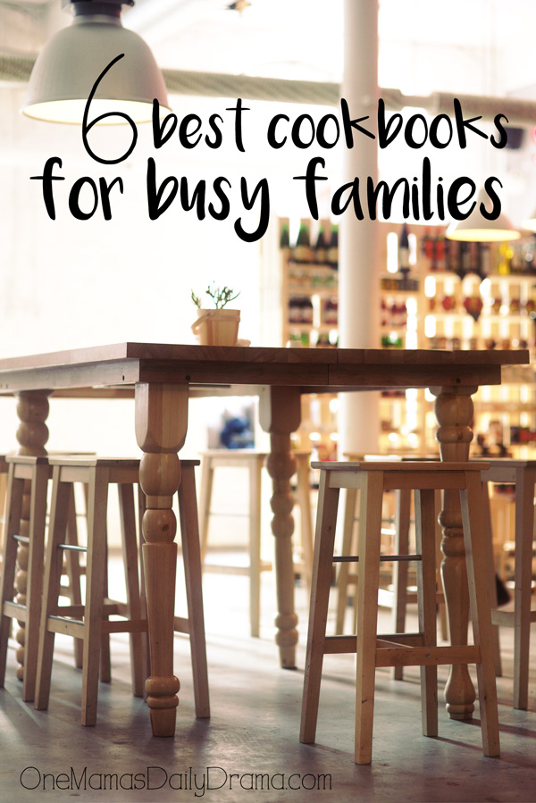 6 best cookbooks for busy families | How to dinner on the table fast