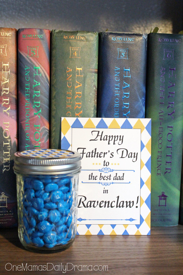 Ravenclaw Father's Day printable