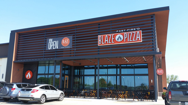 New Blaze Pizza in DFW