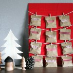 DiY 12 Days of Christmas countdown calendar