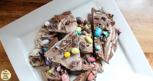"""Everything but the bunny"" Easter bark"