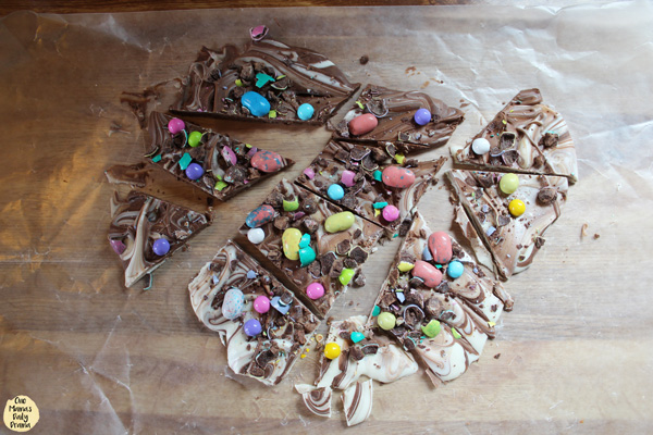 Easter bark cut into pieces