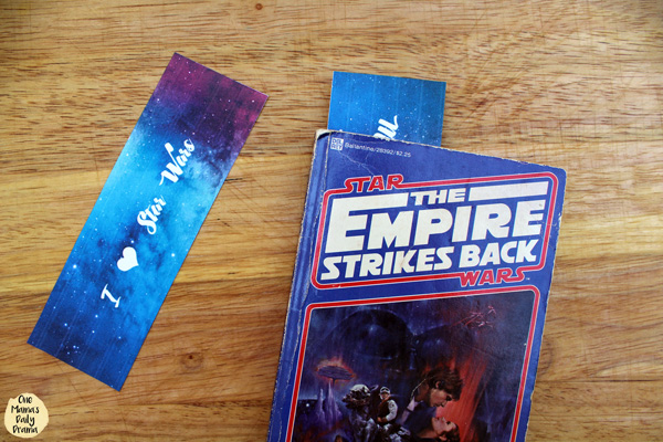 I Love Star Wars // free printable bookmarks
