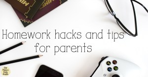 Homework hacks and tips for parents / Help your kids get done quickly without too much procrastination or supervision.