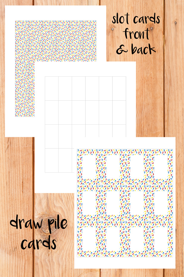Guess Who printable card templates