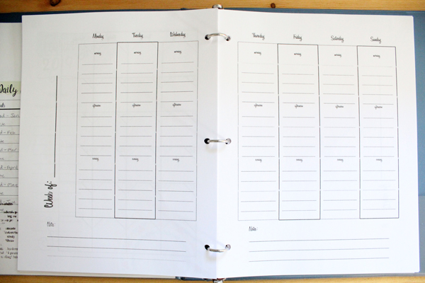 Download this free printable 2019 calendar and take a tour of my 2019 planner.